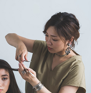 Stylist Naoko Okubo